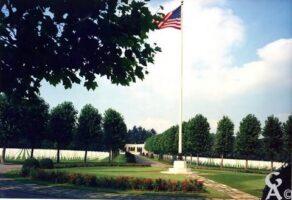 Cimetière militaire - Contributeur : Source : OISE-AISNE AMERICAN CEMETERY AND MEMORIAL