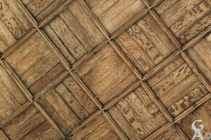 détail du plafond de l'église. - Contributeur : Sébastien Sartori