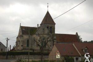 L'église du XVème siècle est classée monuments historiques depuis 1921. - Contributeur : Maryse Trannois