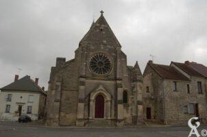 Église du XVIIe siècle, classée aux monuments historiques depuis le 10 janvier 1920.   - Contributeur : Maryse Trannois