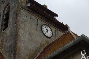 le clocher et l'horloge - Contributeur : Maryse Trannois