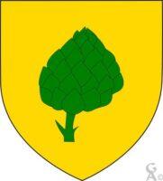 D'or à l'artichaut de sinople - Contributeur : W.Vaudron