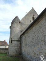 Arrière de l'église - Contributeur : J.P. Brazier