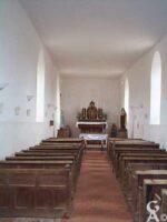 Vue intérieure de l'église - Contributeur : M. Trannois