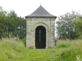 Chapelle reconstruite sur l'emplacement de l'ancienne église de Guyencourt - Contributeur : W.Vaudron