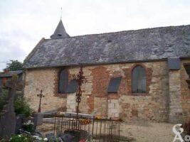 Face latérale de l'église - Contributeur : M. Trannois