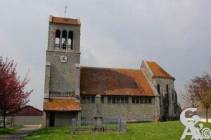 L'église - Contributeur : G. Viet