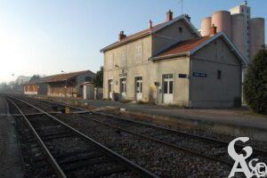 La gare - Contributeur : G. Viet
