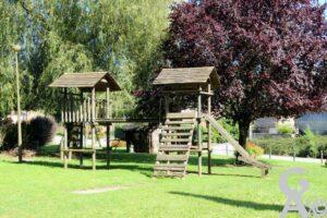 Jardin public  - Contributeur : A. Demolder