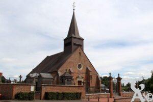 L'église et le cimetière - Contributeur : A.Demolder