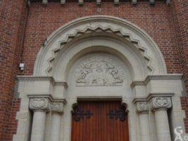 Le tympan de l'église - Contributeur : Jean-Marc Dubois