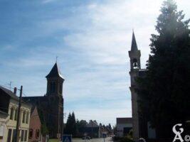 Le village - Les deux clochers  - Contributeur : Sébastien Sartori