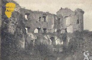 Intérieur des ruines au XIIIéme siècle - Contributeur : M Trannois