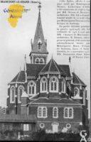 L'église : chevet - Contributeur : Mairie de Brancourt le Grand