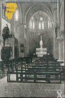 L'église : vue intérieure - Contributeur : Mairie de Brancourt le Grand