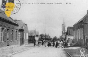 Rue de Là-Haut - Contributeur : Mairie de Brancourt le Grand