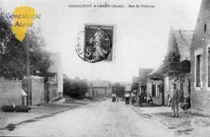 Rue de Prémont - Contributeur : Mairie de Brancourt le Grand
