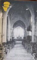 Vue intérieure de l'Eglise Saint-Sauveur - Contributeur : A.M. de Saint-Quentin