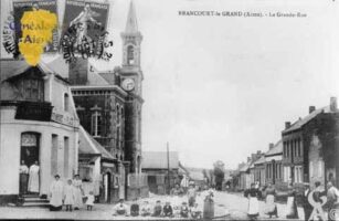La Grande-Rue - Contributeur : Mairie de Brancourt le Grand