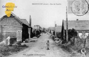 Rue de Capelle - Contributeur : Mairie de Brancourt le Grand