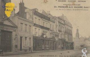 10, rue de la Sellerie à St Quentin - Contributeur : Andrée Laurent