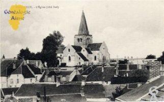 L'église (côté Sud) - Contributeur : Nadine Gilbert