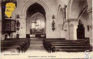 L'église en 1915 - Contributeur : Nadine Gilbert