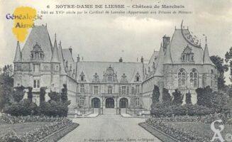 château de Marchais, bâti au XVIé siècle par le Cardinal de Lorraine (Appartenant aux Princes de Monaco). - Contributeur : Sébastien Sartori