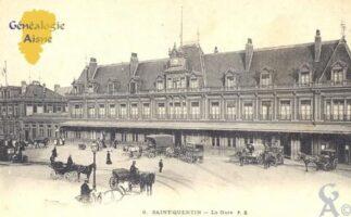 la Gare - Contributeur : Carte Postale : Sébastien Sartori