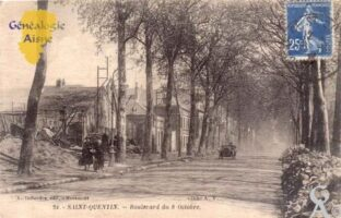 Boulevard du 8 Octobre - Contributeur : Maryse Trannois