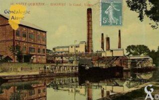 Rocourt - le canal usine - Contributeur : Maryse Trannois