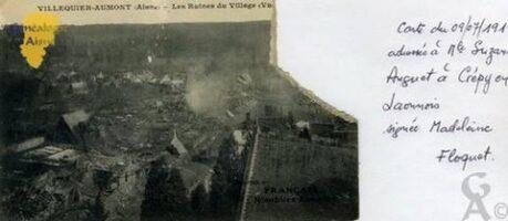 les ruines du village - Contributeur : Laurent Colas