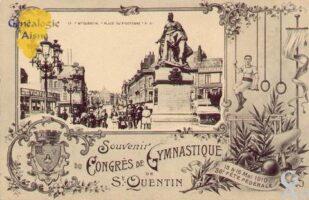 Place du 8 Octobre. Congrés de Gymnastique 1910. - Contributeur : Guy Gilkin