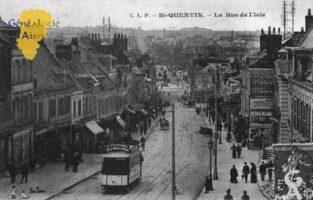 la rue d'Isles - Contributeur : Guy Gilkin