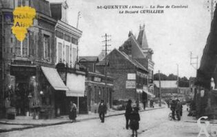 la rue de Cambrai - Contributeur : Guy Gilkin