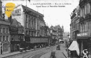 rue de la Sellerie, Grand Bazar et Nouvelles Galeries. - Contributeur : Guy Gilkin