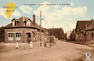 Grande Rue - Café Tabac - Contributeur : Michel Bouyenval