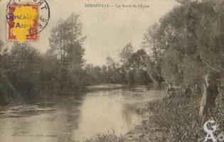 les bords de l'Aisne. - Contributeur : Evelyne Dameron