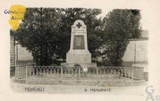 le Monument aux Morts. - Contributeur : Evelyne Dameron