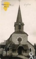 l'église - Contributeur : Evelyne Dameron