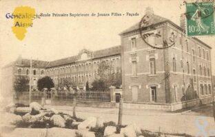 Ecole primaire Supérieure de Jeunes Filles - Façade. - Contributeur : Michel Bouyenval