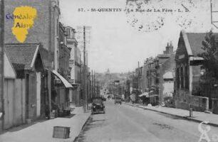 Rue de La Fère   - Contributeur : Colette Brille