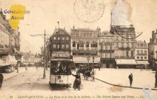 la Place et la rue de la Sellerie. - Contributeur : Michel Bouyenval