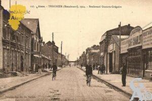 Tergnier - 1924 - Boulevard Gustave-grégoire - Contributeur : Michel Bouyenval