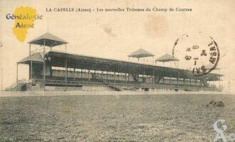 les Nouvelles Tribunes du Champs de Courses. - Contributeur : Michel Bouyenval