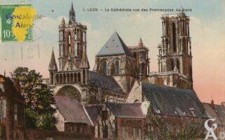 Cathédrale vue des Promenades du Nord.  - Contributeur : Michel Bouyenval