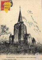 Eglise collégiale du XIIéme  ou XIIIéme siècle. - Contributeur : D. PREVOST