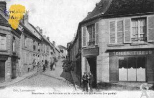 le Porceau et la Rue de la Grosse Pierre - Contributeur : Guy Gilkin