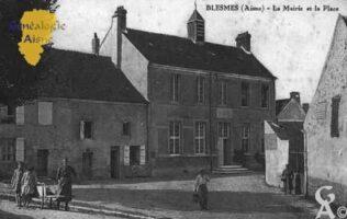la Mairie et la Place - Contributeur : Guy Gilkin