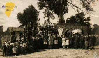 Communiants après la guerre 14/18 - Contributeur : P.Courcy